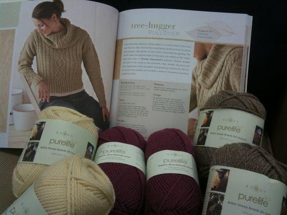 Perfect for Rowan's Pure Wool