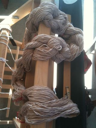 Warp tied