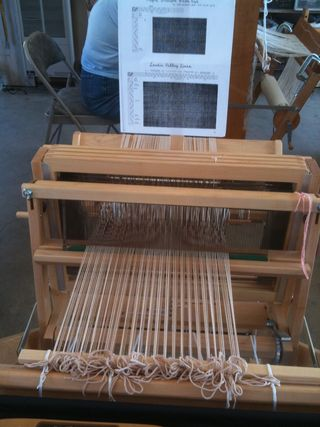Ready to weave