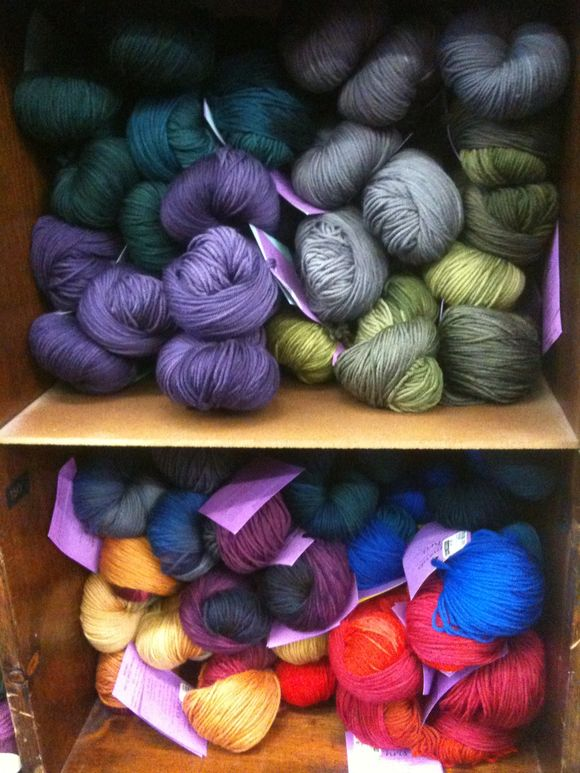 Welcome Back, Schaefer Yarns